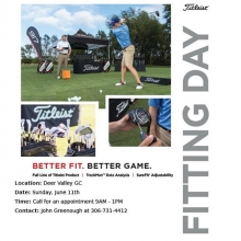 Should be a nice day for our @titleistca fit day tomorrow. Call the shop to book your appointment today. (306)731-1445. Fitting start at 9:00am so don't stay out to late partying after the Rider Game.  #teamtitleist #golfyqr #saskatchewanroughriders #sask