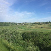 The 9th hole is starting to look pretty good. Stay tuned for updates as to when the hole will be back in the rotation. #nofilter #golfyqr #golfregina #valleylife