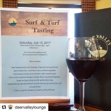 #Repost @deervalleylounge (@get_repost) ・・・ Join us for Surf & Turf on July 15! Call the lounge today to make your reservation. #surfandturf #deervalleylounge #DVdinnerseries #golfyqr