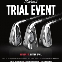 Come check out our @titleistca fit day on Friday from 1-6pm. The new lineup of irons and hybrids will be available for u to get custom fit for. Please call the pro shop to book a fitting appointment. #AP3 #718