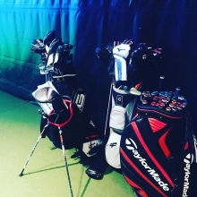 Club fitting? We can do it all! Our pro shop is professionally staffed to provide the best fitting experience! Call the shop today to book your fitting! #getfit #teamdv