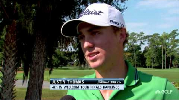 Justin Thomas wins the Nationwide Children's Hospital Invitational