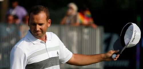 Sergio Garcia Leads WGC, Breaks Back 9 Record