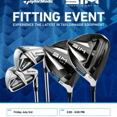 Taylormade Fit Day Friday July 3rd
