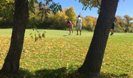 Golf Course Open from October 16th to 21st