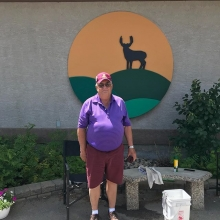 Congratulations to long time staff member Ed Bale on his first Hole in One today on 16! He's been scratch for almost 40 years and this is his first one! Great job Ed!