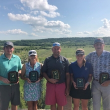 Congratulations to our 2019 Club Champions! Great shooting this weekend has secured your parking spots for the next year!  Men's - Travis Fifi Ladies - Carey McLean Sr. Men - Tom Kellett Sr. Ladies - Karen Mario Jr. Boys - Josh Babcock