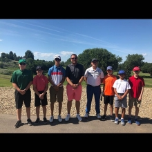 Team DV was at the Pro Junior today! Fielding 2 teams in what was a great event! Thanks to Elmwood Golf Club in Swift Current for hosting and @pingtour for sponsoring the event! Both teams had a lot of fun and for the third time this year @greeno61 and @s
