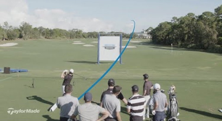 Team TaylorMade Shot Shape Wall Challenge | TaylorMade Golf