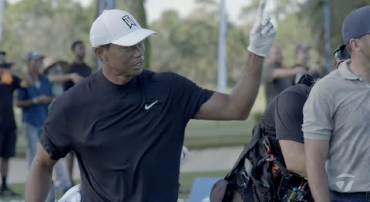 Tiger Woods Mic'd Up at Our Photoshoot | TaylorMade Golf