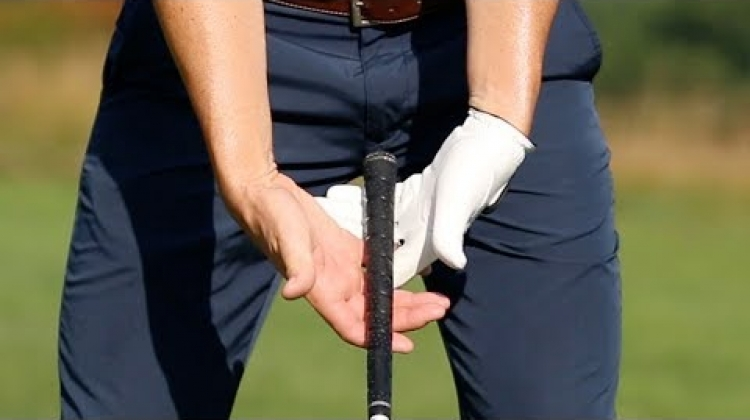 Insta Golf Tips: Put the Club in Your Fingers